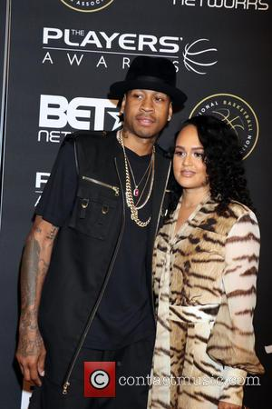 Allen Iverson and Tawanna Iverson