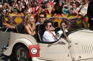 Nick Grimshaw, Rita Ora, Simon Cowell, Cheryl Cole and Cheryl Fernandez-versini
