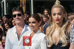 Rita Ora, Simon Cowell, Cheryl Cole and Cheryl Fernandez-versini