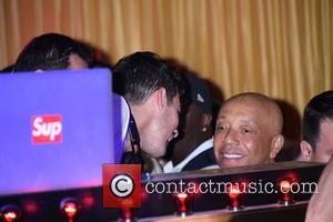 Joe Jonas and Russell Simmons