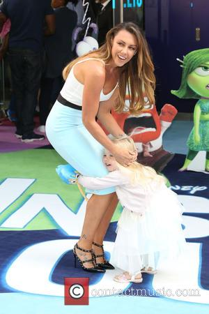 Michelle Heaton and Daughter Hope