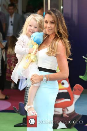 Michelle Heaton and daughter Hope - Inside Out UK Premiere held at Odeon - Arrivals - London, United Kingdom -...