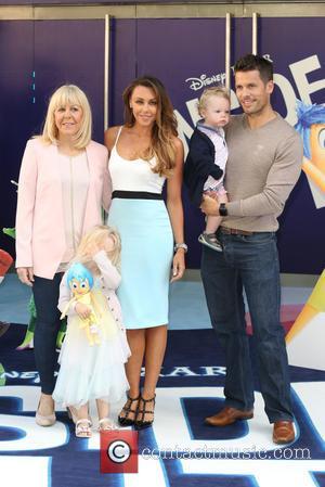Michelle Heaton, Husband Hugh Hanley and Children