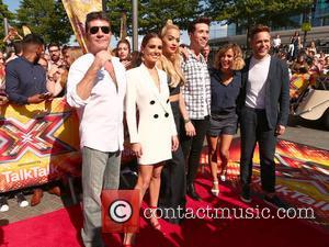 Simon Cowell, Cheryl Fernandez-versini, Rita Ora, Nick Grimshaw, Caroline Flack and Olly Murs