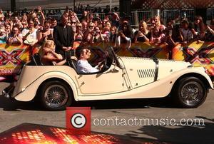 Simon Cowell, Cheryl Fernandez-versini, Rita Ora and Nick Grimshaw