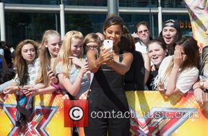 Rochelle Humes - Photocall at The SSE Arena, Wembley for the London auditions of The X Factor 2015 at Wembley...