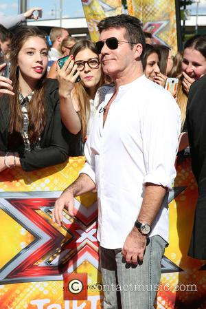 Simon Cowell - 'The X Factor' London auditions at the SSE Arena Wembley at The X Factor - London, United...