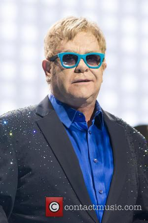 Sir Elton John and Elton John - Sir Elton John in concert at the Teatro Real in Madrid - Madrid,...