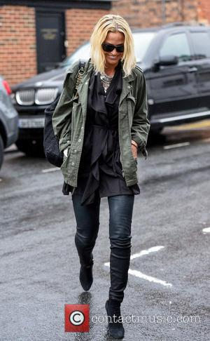 Sarah Harding - Sarah Harding arrives at Signal Radio during her UK radio tour to promote her new single at...