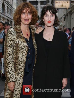Anna Chancellor and Poppy Chancellor