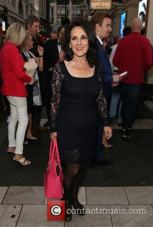 Lesley Joseph - 'Frank Sinatra - The Man and His Music' - Arrivals - London, United Kingdom - Monday 20th...