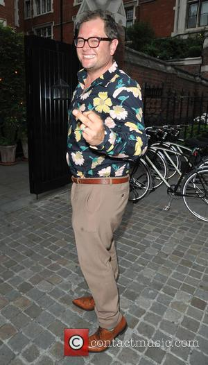 Alan Carr - Alan Carr arrives at Chiltern Firehouse - London, United Kingdom - Monday 20th July 2015
