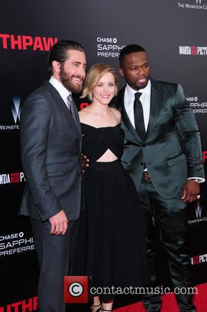 Jake Gyllenhaal, Curtis 50 Cent Jackson and Rachel Mcadams