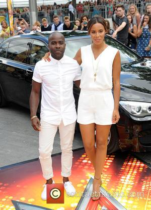 Melvin Odoom and Rochelle Humes
