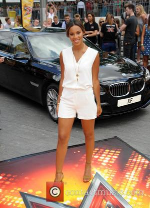 Rochelle Humes - X Factor 2015 London Auditions held at Wembley Arena - Arrivals at x factor, Wembley Arena -...