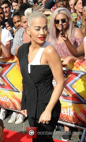 Rita Ora - X Factor 2015 London Auditions held at Wembley Arena - Arrivals at x factor, Wembley Arena -...