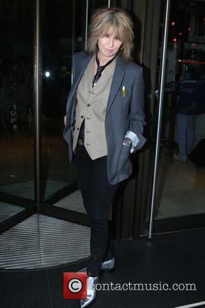 Chrissie Hynde - Chrissie Hynde arriving for dinner at Novikov Restaurant & Bar at Mayfair - London, United Kingdom -...