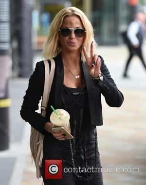 Sarah Harding - Sarah Harding at MediaCityUK at Media City - Manchester, United Kingdom - Tuesday 21st July 2015