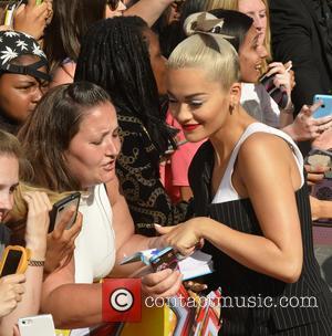 Rita Ora at x factor and Wembley Arena