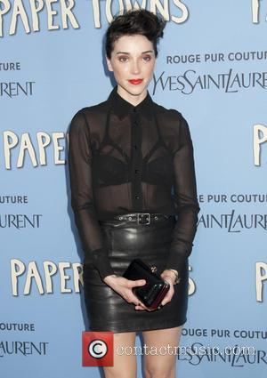 St. Vincent - New York premiere of 'Paper Towns' held at AMC Loews Lincoln Square - Arrivals at AMC Loews...