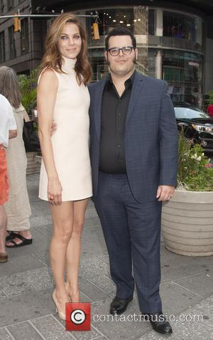 Michelle Monaghan and Josh Gad