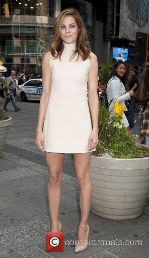 Michelle Monaghan - The cast of 'Pixels' close Nasdaq Times Square at Nasdaq Times Square, Times Square - New York,...