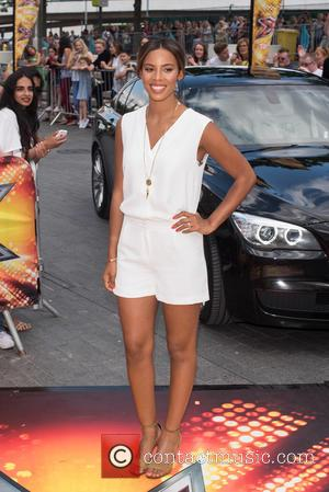 Rochelle Humes - X Factor auditions at the Wembley Arena - Arrivals. at x factor, Wembley Arena - London, United...