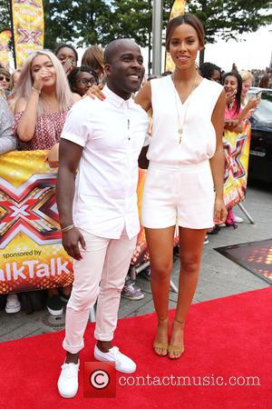 Rochelle Humes, Rochelle Wiseman and Melvin Odoom