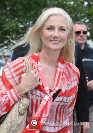 Joely Richardson - Joely Richardson outside ITV Studios - London, United Kingdom - Wednesday 22nd July 2015