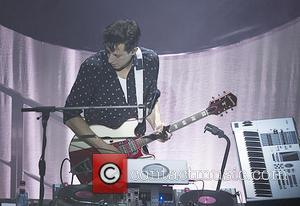 Mark Ronson - Mark Ronson performs live during the first of his Australian shows at Metro City in Perth as...