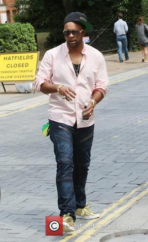 Shaggy - Reggae artist Shaggy leaves ITV studios in London and heads to a cafe on the South Bank at...