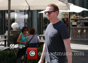 Simon PEGG - The cast arrives in Vienna for the world premiere of Mission: Impossible 5. - Vienna, Austria -...