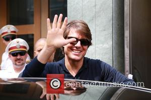 Tom CRUISE - Tom Cruise arrives in Vienna for the world premiere of Mission: Impossible 5. - Vienna, Austria -...