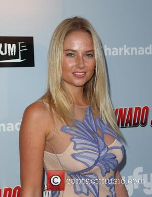 Genevieve Morton - Los Angeles premiere of The Asylum's 'Sharknado 3: Oh Hell No!' - Arrivals at iPic Theaters -...