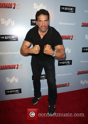 Lou Ferrigno - Los Angeles premiere of The Asylum's 'Sharknado 3: Oh Hell No!' - Arrivals at iPic Theaters -...