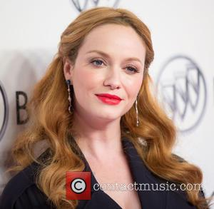 Christina Hendricks - Celebrities attend Buick 24 Hours of Happiness Test Drive launch event at Ace Museum. at Ace Museum...