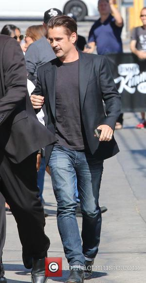 Colin Farrell - Colin Farrell  arriving for the Jimmy Kimmel Live! show in Hollywood - Los Angeles, California, United...