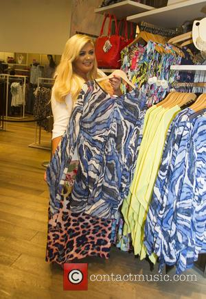 Gemma Collins - Gemma Collins host a Girl's night in at Evans Store in Oxford Street - London, United Kingdom...