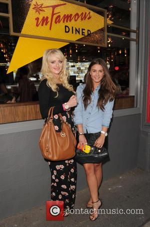 Brooke Vincent and Katie McGlynn - The Infamous Diner opening in the Northern Quarter in Manchester at Infamous Diner -...