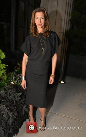 Alysia Reiner - The Cast of the movie Equity had dinner at Stephen Starr's Tulula's Garden in Philadelphia at Tulula's...