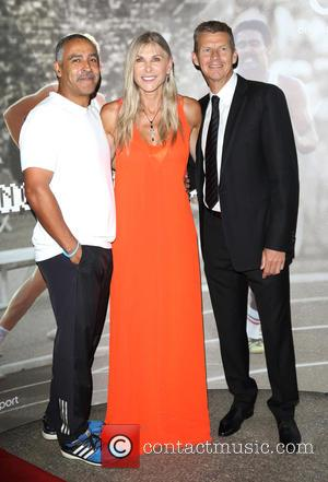 Daley Thompson, Sharron Davies and Steve Cram