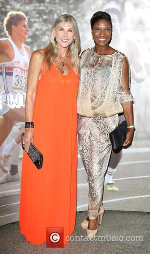 Sharron Davies and Denise Lewis