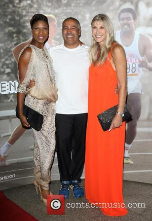 Denise Lewis, Daley Thompson and Sharron Davies