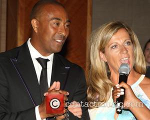 Colin Jackson and Sally Gunnell