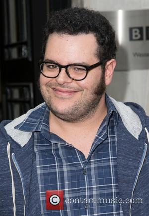 Josh Gad - Josh Gad pictured leaving the Radio 2 studio after appearing as a guest on Chris Evans Breakfast...