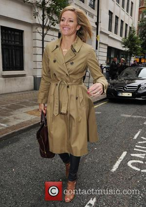 Gabby Logan - Gabby Logan at the BBC Radio 2 studios - London, United Kingdom - Friday 24th July 2015