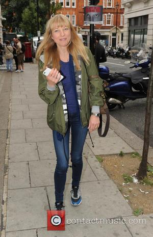 Sara Cox - Sara Cox leaving the BBC Radio 2 studios - London, United Kingdom - Friday 24th July 2015
