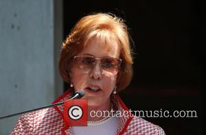 Carol Burnett - Kristin Chenoweth Honored With Star On The Hollywood Walk Of Fame at ON THE HOLLYWOOD WALK OF...