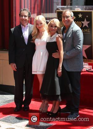 Dove Cameron, KRISTIN CHENOWETH and Kenny Ortega
