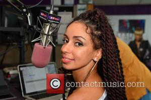 Mýa - Mýa visits Hot 105 FM and 99 Jamz for an interview at COX Radio - Hollywood, Florida, United...